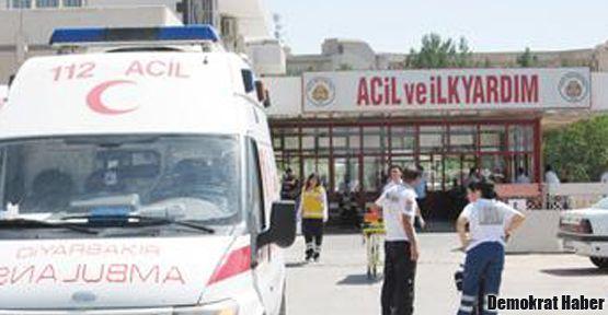 Diyarbakır'da tutuklular hastanelere sevk ediliyor