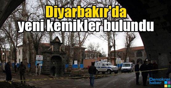 Diyarbakır'da yeni kemikler bulundu