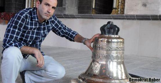 Diyarbakır'daki çan 97 yıl sonra yeniden çalacak