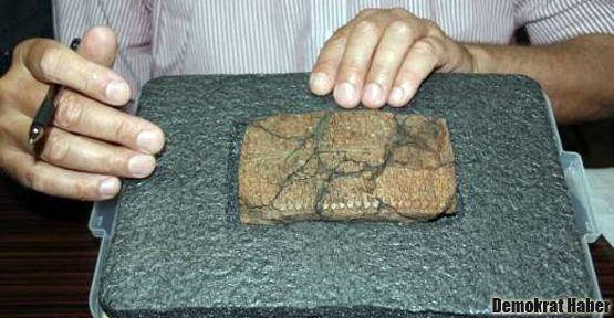 Diyarbakır'daki esrarengiz tabletin sırrı