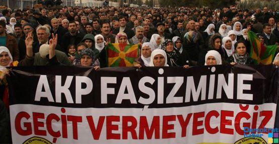 Diyarbakır: 'Faşizme geçit yok'