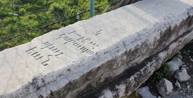 Dolmabahçe Sarayı'nın Ermeni Mimarı Balyan'ın mezar taşı şantiyede çıktı!