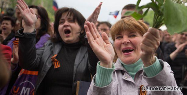 Donetsk bağımsızlık ilan etti