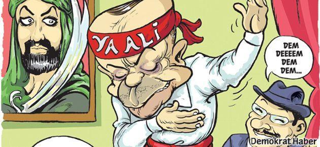 'Dört dörtlük Alevi' Erdoğan Leman'ın kapağında