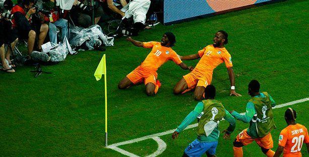Drogba oyuna girdi, Fildişi kazandı
