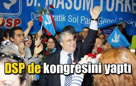 DSP de kongresini yaptı