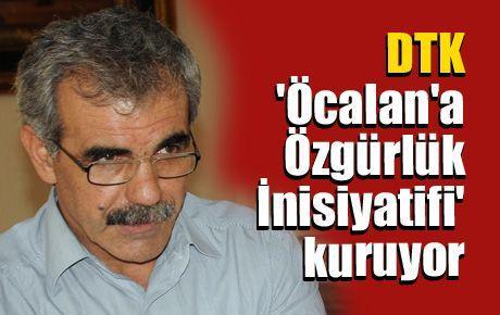 DTK 'Öcalan'a Özgürlük İnisiyatifi' kuruyor