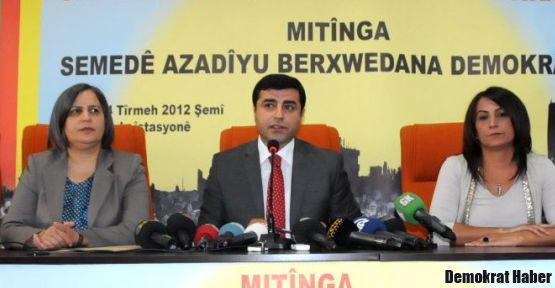 DTK ve BDP meydan okudu: 14 Temmuz'da Meydandayız!