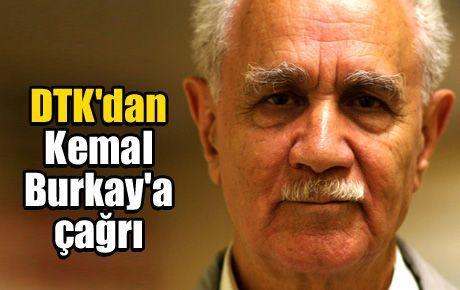 DTK'dan Kemal Burkay'a çağrı