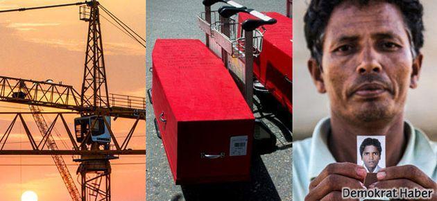 Dünya Kupası için Katar'da işçi katliamı