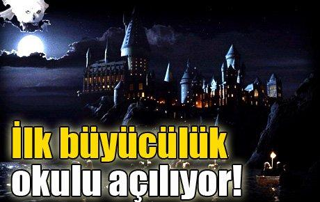 Dünyadaki ilk büyücülük okulu açıyor!