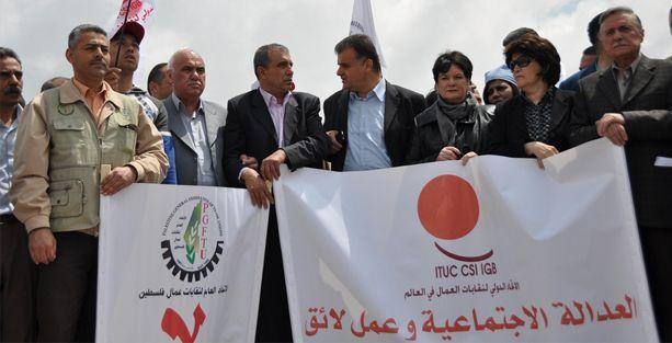 Dünyanın bütün işçileri Filistin için eyleme!