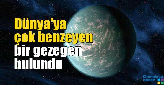 Dünya'ya çok benzeyen bir gezegen bulundu