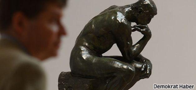 'Düşünen Adam' heykeli satıldı