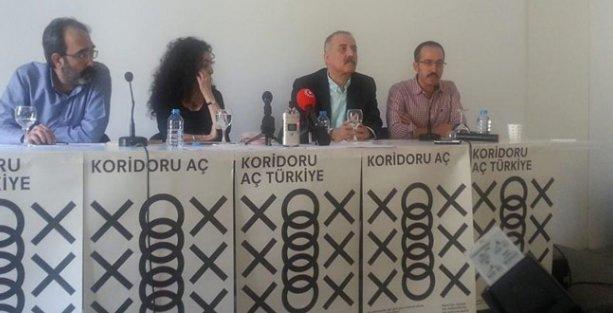 Edebiyatçılar 'Kobani için 1 cümle' kurdu