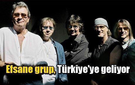 Efsane grup, Türkiye'ye geliyor