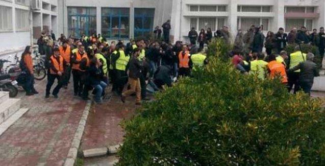 Ege Üniversitesi yine karıştı...Polis öğrencilere saldırdı: 21 gözaltı