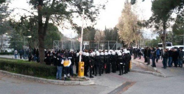 Ege Üniversitesi'ndeki olaylarla ilgili 1 kişiye daha gözaltı