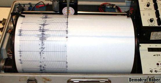 Ege'de 5,0 büyüklüğünde deprem