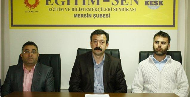 Eğitim-Sen'den Yalova Valisi'nin istifası için faks eylemi
