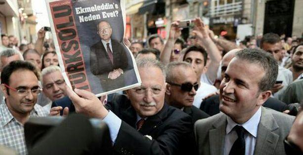 Ekmeleddin İhsanoğlu'na 'Türk Solu' şoku