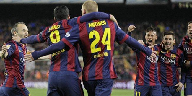El Clasico'da gülen taraf Barça oldu