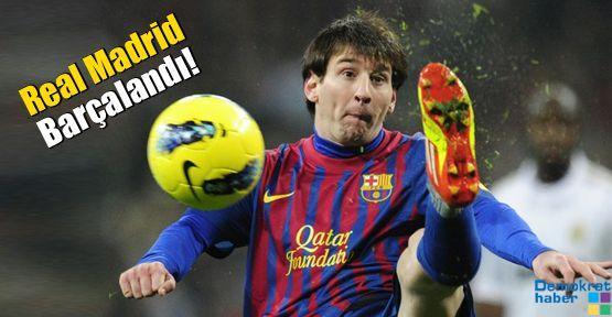 El Clasico'da Real Madrid Barçalandı!