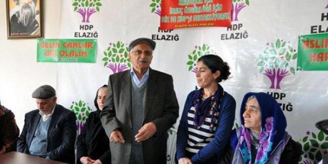 Elazığ'daki Alevi Dedeleri ve Pirleri'nden HDP'ye destek