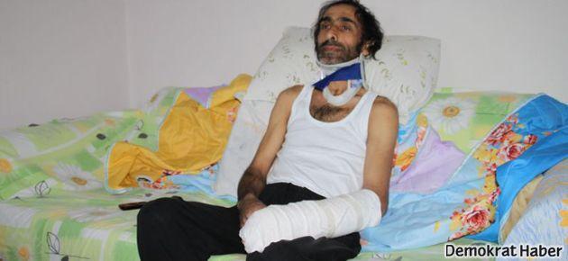 'Eli soplalılar' ve polis engelli vatandaşa da saldırmış