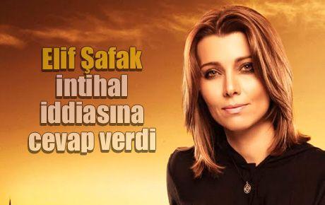 Elif Şafak intihal iddiasına cevap verdi