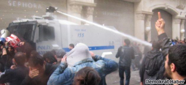 'Emek' protestosuna biber gazı