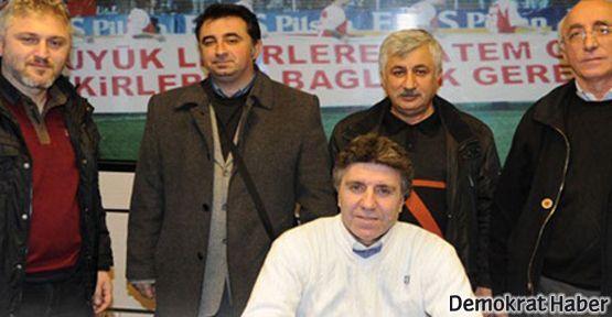 Emek ve demokrasi güçlerinden Samsunspor'a ziyaret