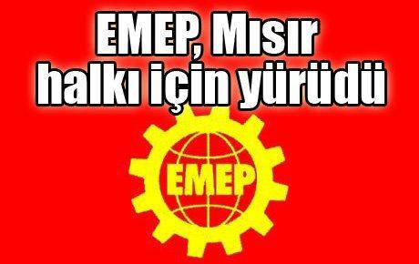 EMEP, Mısır halkı için yürüdü