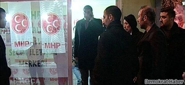 Emniyet: MHP'ye saldırı siyasi değil, asayiş olayı