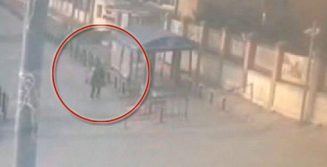 Emniyet Müdürlüğü'ne silahlı saldırı güvenlik kamerasında