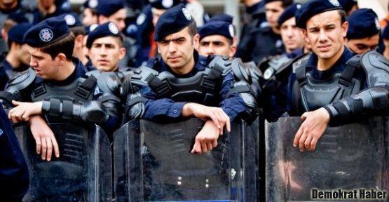 Emniyet-Sen'e üye 6 polise baskı