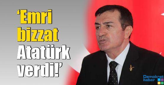 'Emri bizzat Atatürk verdi!'