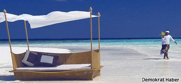 En güzel balayı için Maldivler turu