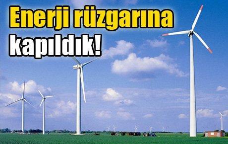 Enerji rüzgarına kapıldık!