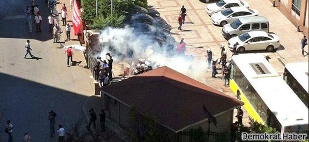 Enerji-Sen üyelerine polis müdahalesi