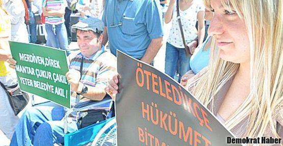 Engelliler için Alt Komisyon talebi