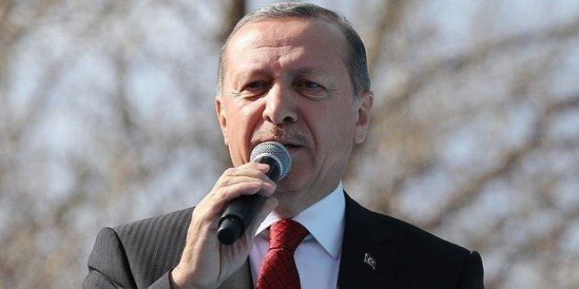 Erdoğan: 400 milletvekilini verin bu iş huzur içinde çözülsün