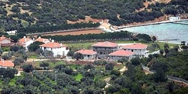 Erdoğan'a ait olduğu iddia edilen Urla villaların bulunduğu alana giriş yasaklandı
