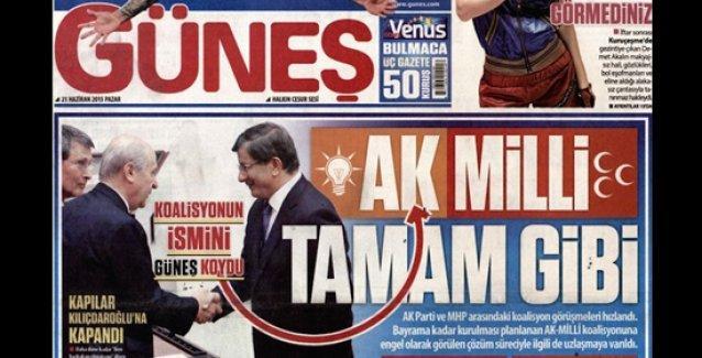 Erdoğan'a 'ilan-ı aşk eden' Ethem Sancak'ın Güneş'i koalisyonu kurdu: 'AK-MİLLİ'