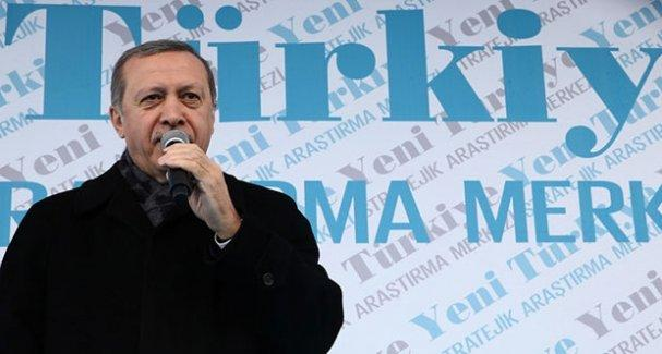 Erdoğan: Ağrı'da 25 terörist güvenlik güçlerimize karşı çatışmanın içinde