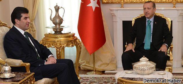 Erdoğan-Barzani görüşmesinde imzalar atılmadı