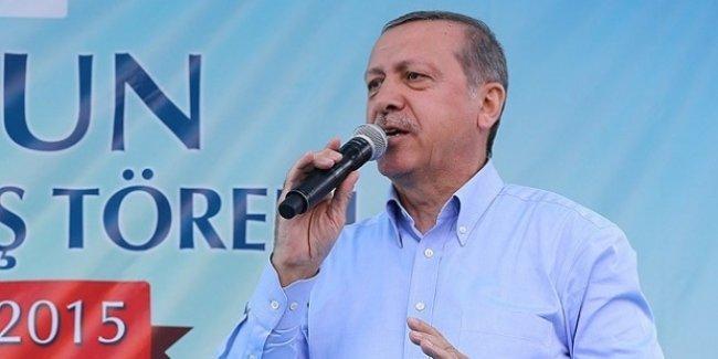 Erdoğan: Biz müslümanız, benim Zerdüştlerle işim olmaz