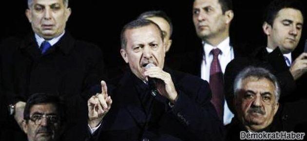 Erdoğan, cemaat karşıtı slogana izin vermedi