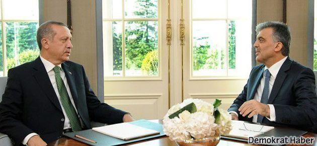Erdoğan, Cumhurbaşkanı Gül ile görüştü