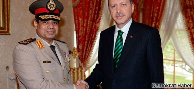 Erdoğan Darbeci Sisi'yle yarıştı